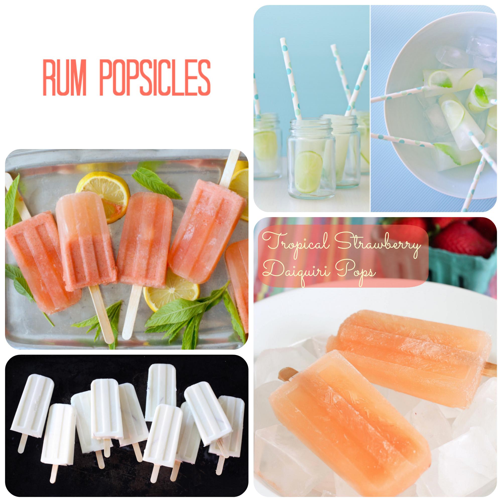 Rum popsicles
