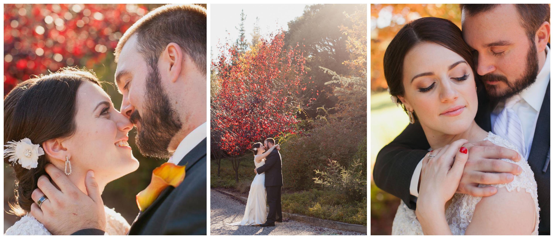 Autumn wedding photos