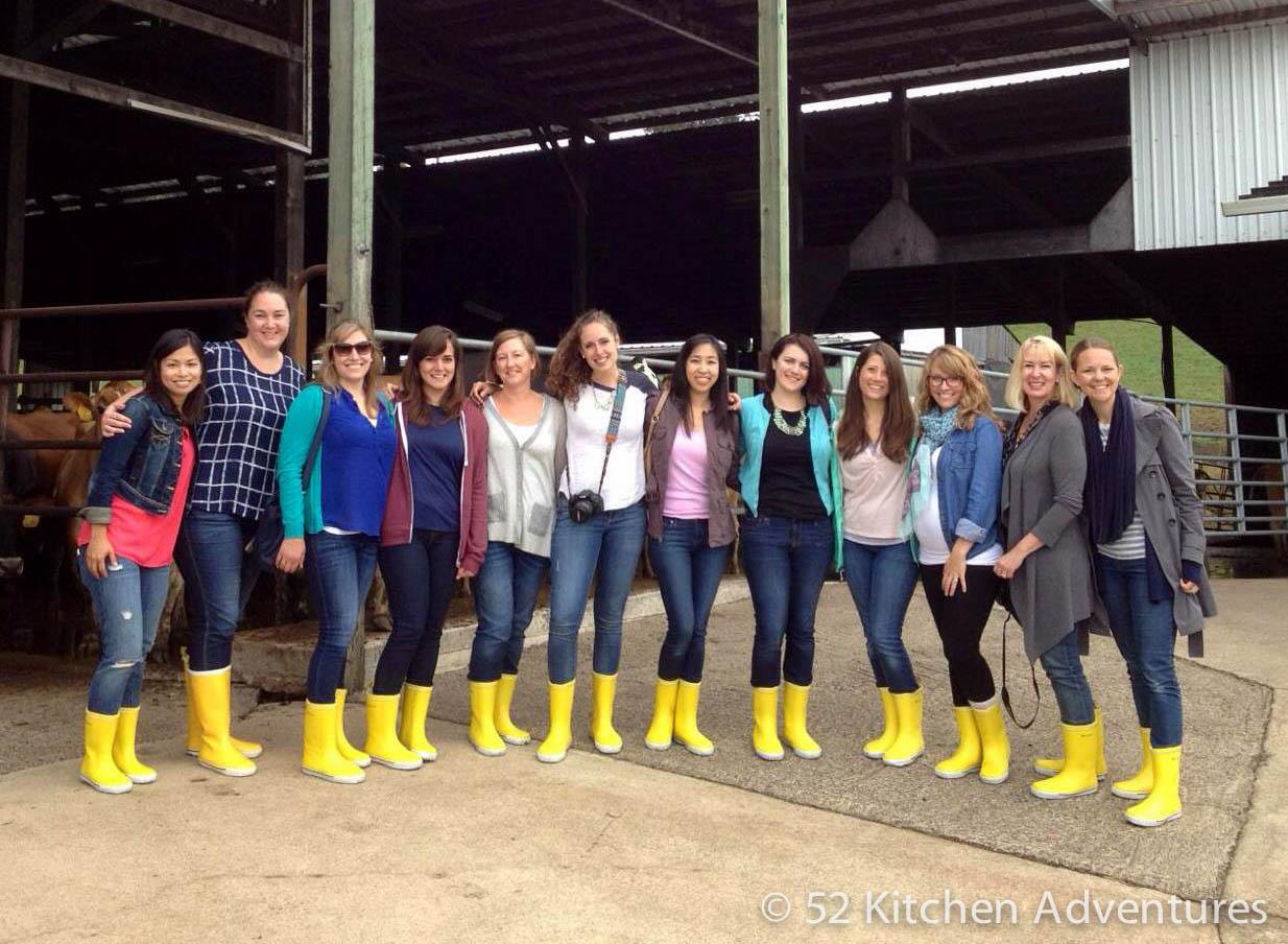 Bloggers at Tillamook