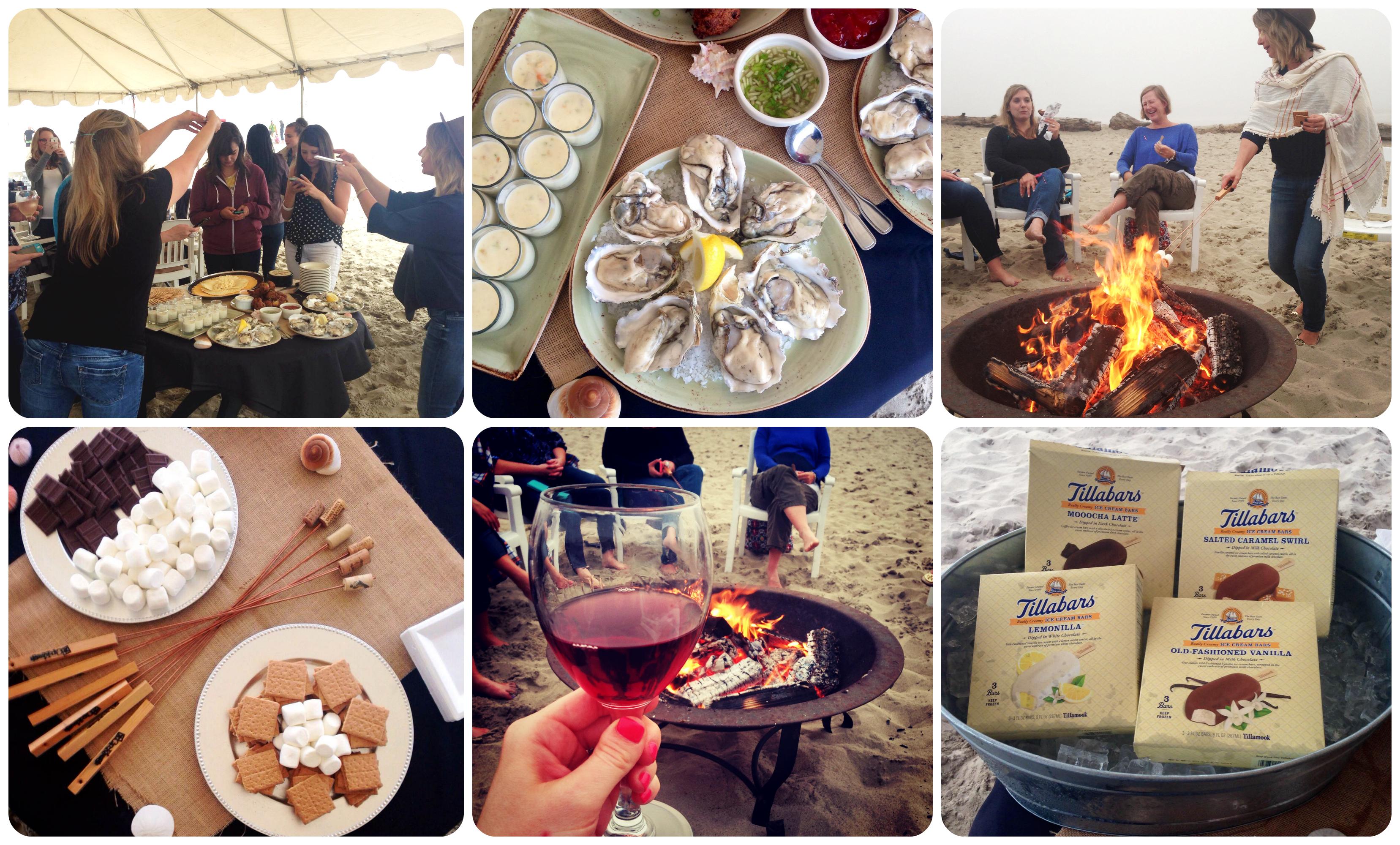 Beach Dinner & Bonfire