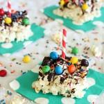 Marshmallow Popcorn Bars